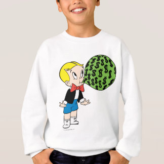 Richie Rich Blowing Bubble - Color Sweatshirt