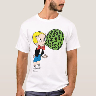 Richie Rich Blowing Bubble - Color T-Shirt