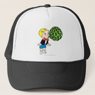 Richie Rich Blowing Bubble - Color Trucker Hat