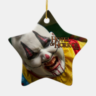 Richie Rich Clown Star Double-Sided Star Ceramic Christmas Ornament