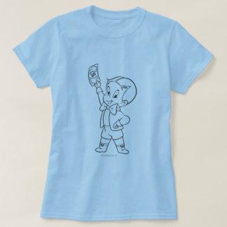 Richie Rich Dollar Bill B&W T-Shirt