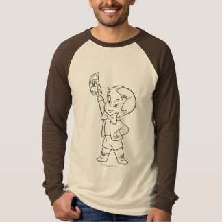 Richie Rich Dollar Bill B&W T-Shirt