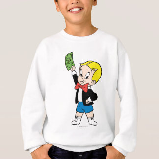 Richie Rich Dollar Bill - Color Sweatshirt