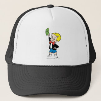 Richie Rich Dollar Bill - Color Trucker Hat