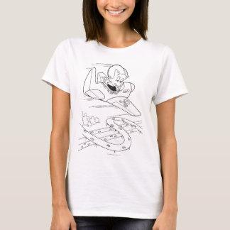 Richie Rich Flying Plane - B&W T-Shirt