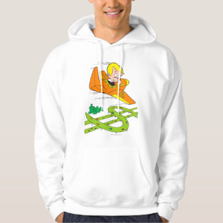 Richie Rich Flying Plane - Color Hoodie