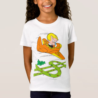 Richie Rich Flying Plane - Color T-Shirt