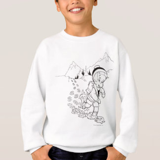 Richie Rich Hiking - B&W Sweatshirt