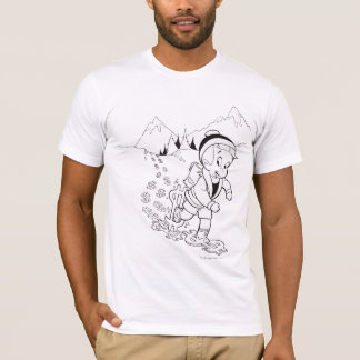 Richie Rich Hiking - B&W T-Shirt