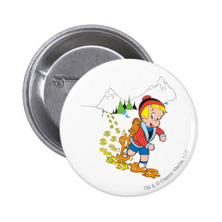 Richie Rich Hiking - Color 6 Cm Round Badge