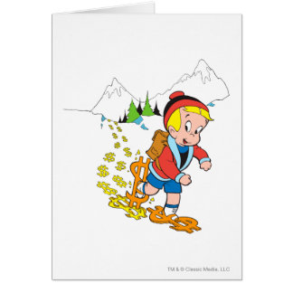 Richie Rich Hiking - Color Card