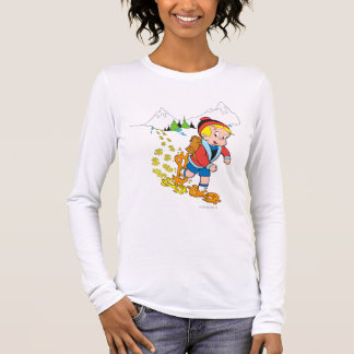 Richie Rich Hiking - Color Long Sleeve T-Shirt