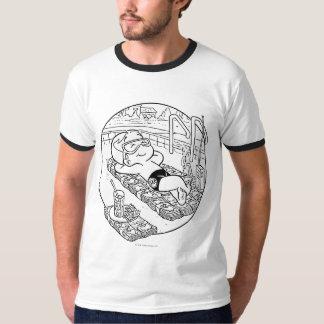 Richie Rich in Pool - B&W T-Shirt