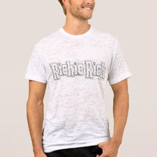 Richie Rich Logo - B&W T-Shirt