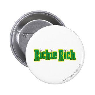 Richie Rich Logo - Color 6 Cm Round Badge