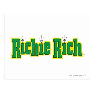 Richie Rich Logo - Color Postcard