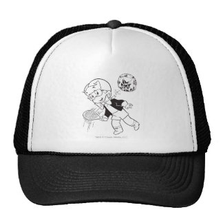 Richie Rich Paddle Ball - B&W Cap