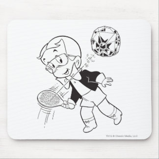 Richie Rich Paddle Ball - B&W Mouse Mat