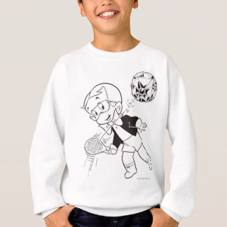 Richie Rich Paddle Ball - B&W Sweatshirt