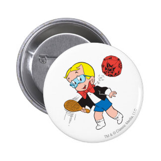 Richie Rich Paddle Ball - Color 6 Cm Round Badge