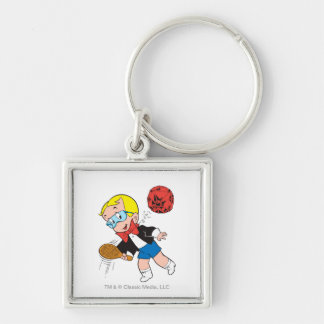 Richie Rich Paddle Ball - Color Key Ring