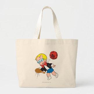 Richie Rich Paddle Ball - Color Large Tote Bag