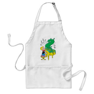 Richie Rich Playing Piano - Color Standard Apron