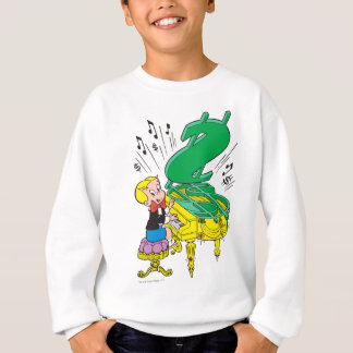 Richie Rich Playing Piano - Color Sweatshirt