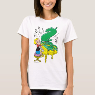 Richie Rich Playing Piano - Color T-Shirt