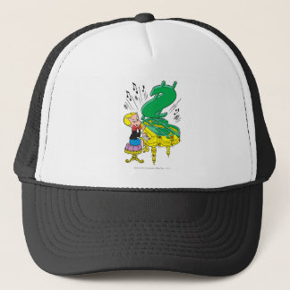 Richie Rich Playing Piano - Color Trucker Hat