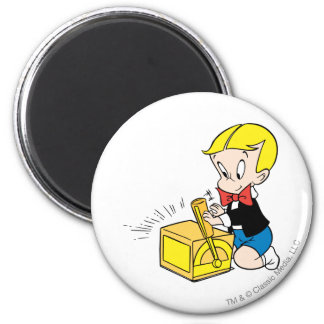 Richie Rich Playing with Toy - Color Magnet