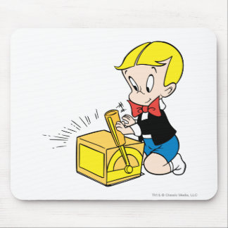 Richie Rich Playing with Toy - Color Mouse Pad