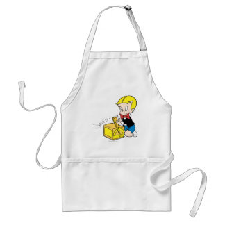 Richie Rich Playing with Toy - Color Standard Apron