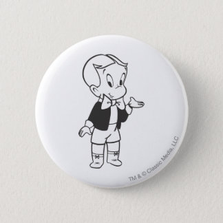 Richie Rich Standing 6 Cm Round Badge