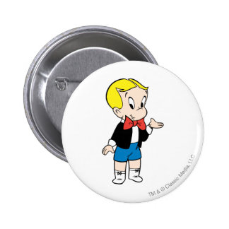 Richie Rich Standing - Color 6 Cm Round Badge