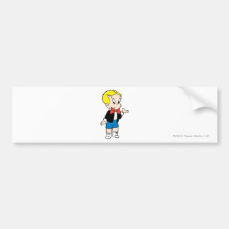 Richie Rich Standing - Color Bumper Sticker