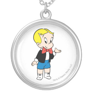 Richie Rich Standing - Color Silver Plated Necklace