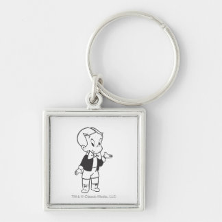 Richie Rich Standing Key Ring
