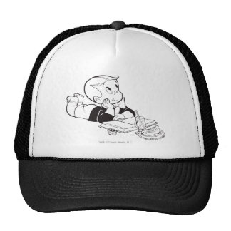 Richie Rich Studying - B&W Cap