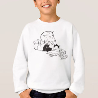 Richie Rich Studying - B&W Sweatshirt