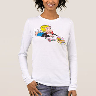 Richie Rich Studying - Color Long Sleeve T-Shirt