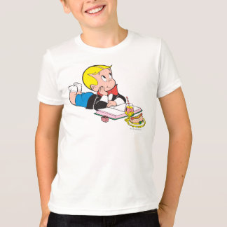 Richie Rich Studying - Color T-Shirt