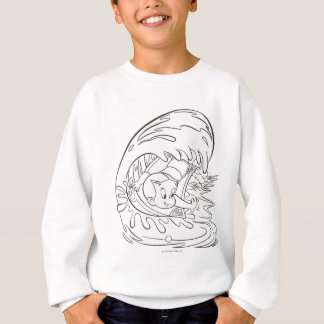 Richie Rich Surfing - B&W Sweatshirt