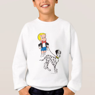 Richie Rich Walks Dollar the Dog - Color Sweatshirt