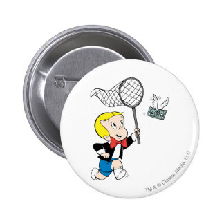 Richie Rich with Net - Color 6 Cm Round Badge