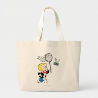 Richie Rich with Net - Color Large Tote Bag