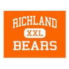 Richland - Bears - High School - Richland Missouri Postcard