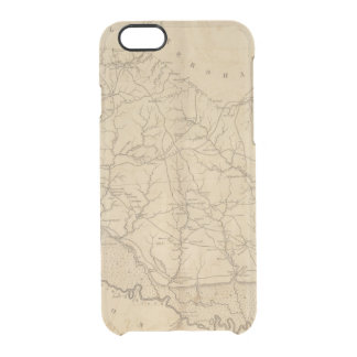 Richland District, South Carolina Clear iPhone 6/6S Case