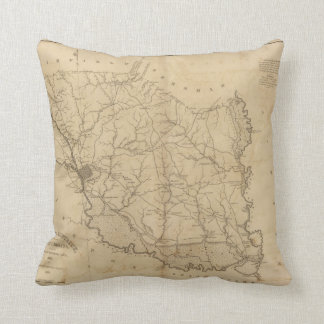 Richland District, South Carolina Throw Pillow