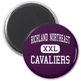 Richland Northeast - Cavaliers - High - Columbia 6 Cm Round Magnet